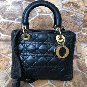 Christian dior Lady Dior Black bag